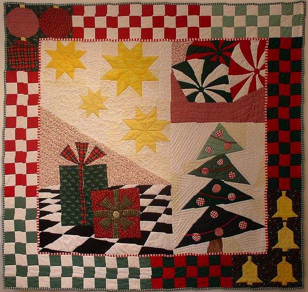 Christmas Quilt 1